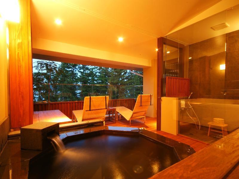 海之翠 特別房+露天風呂 (Special Room with Open-air Bath (Umi no Midori Type))