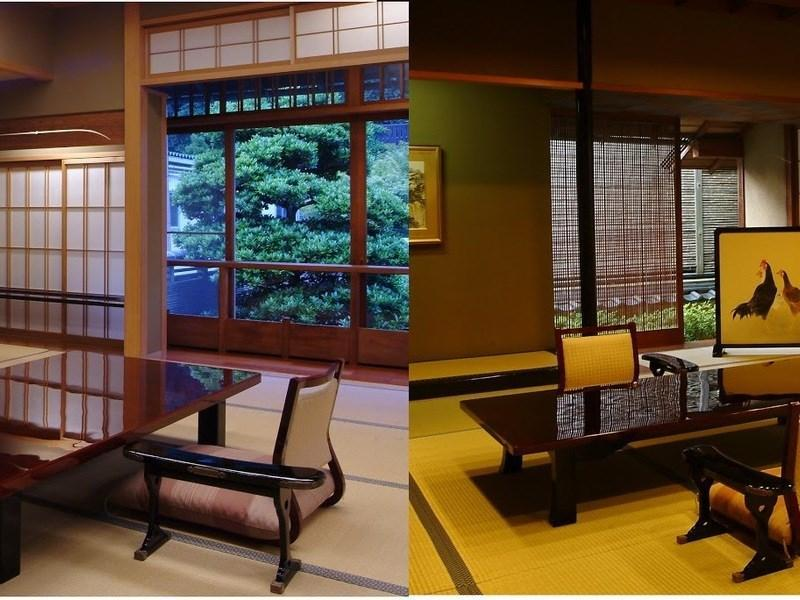 半露天風呂付特別室(蓬莱の間) (Special Japanese-style Room with Open-air Bath ※Allocated on Arrival)