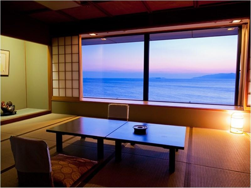 豪华和式房 (Deluxe Japanese-style Room (Ocean Side))