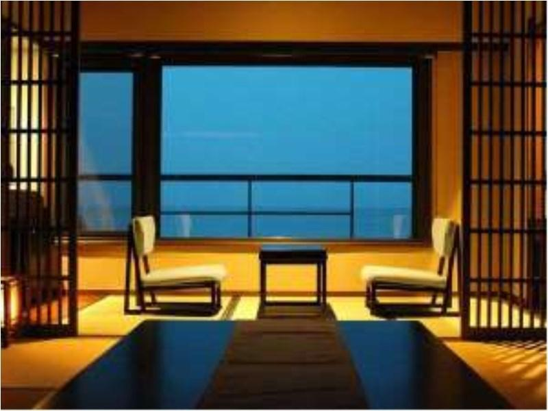 高層階 「夕なぎフロア」和室10畳 (Japanese-style Room (Upper Floors/Yunagi Floor))