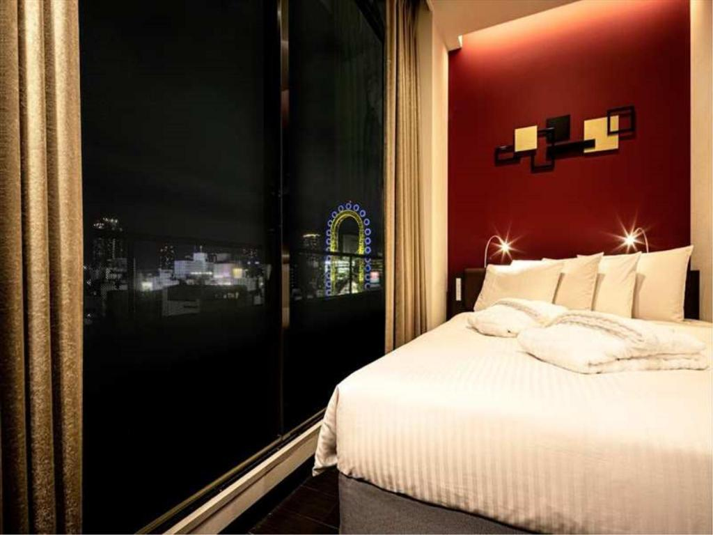 Premium Double Room (Upper Floors) - ห้องพัก อะโกร่า เพลส นัมบะ (Agora Place Namba (Formerly: Red Roof Plus Osaka Namba))