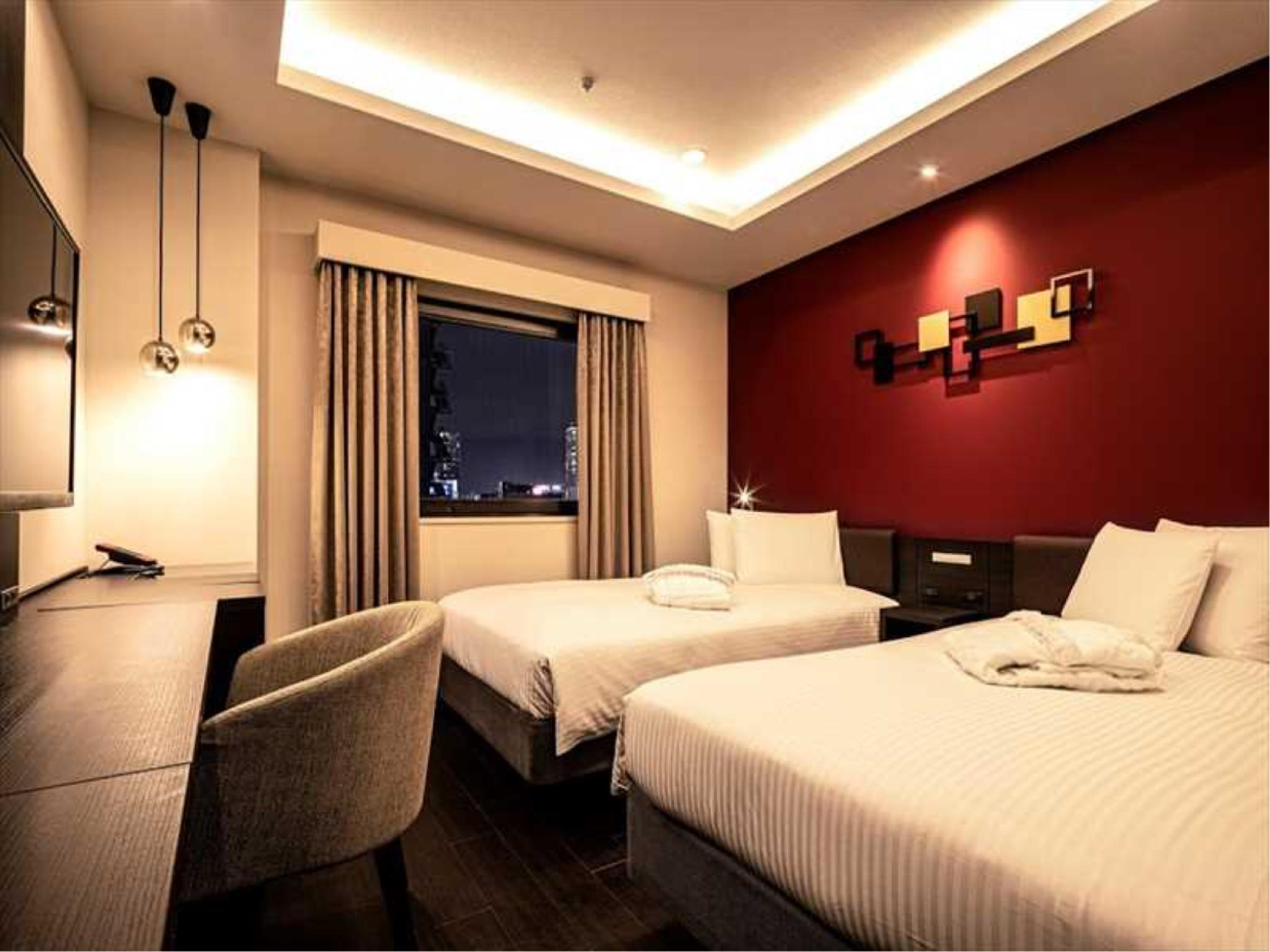 Premium Twin Room (Upper Floors)