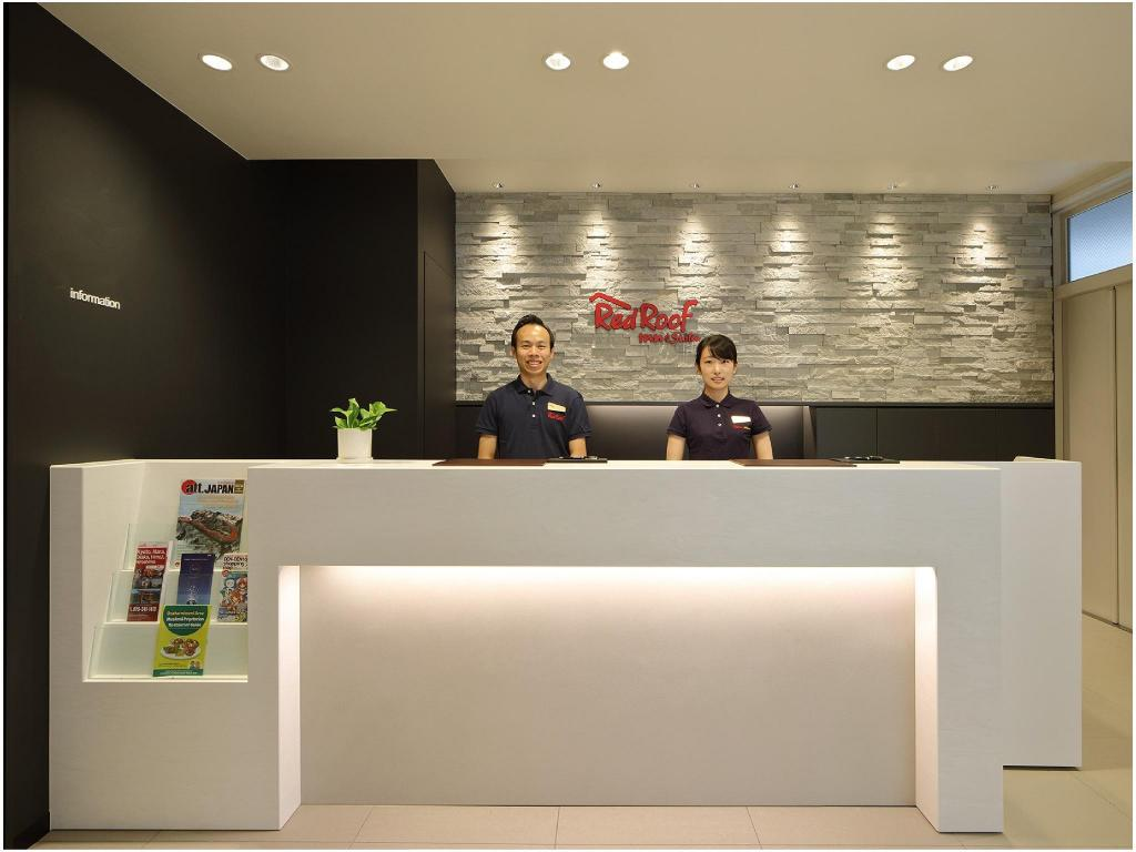 大堂 紅屋頂Inn&Suites 大阪難波・日本橋 (Red Roof Inn & Suites Osaka Namba/Nippombashi)