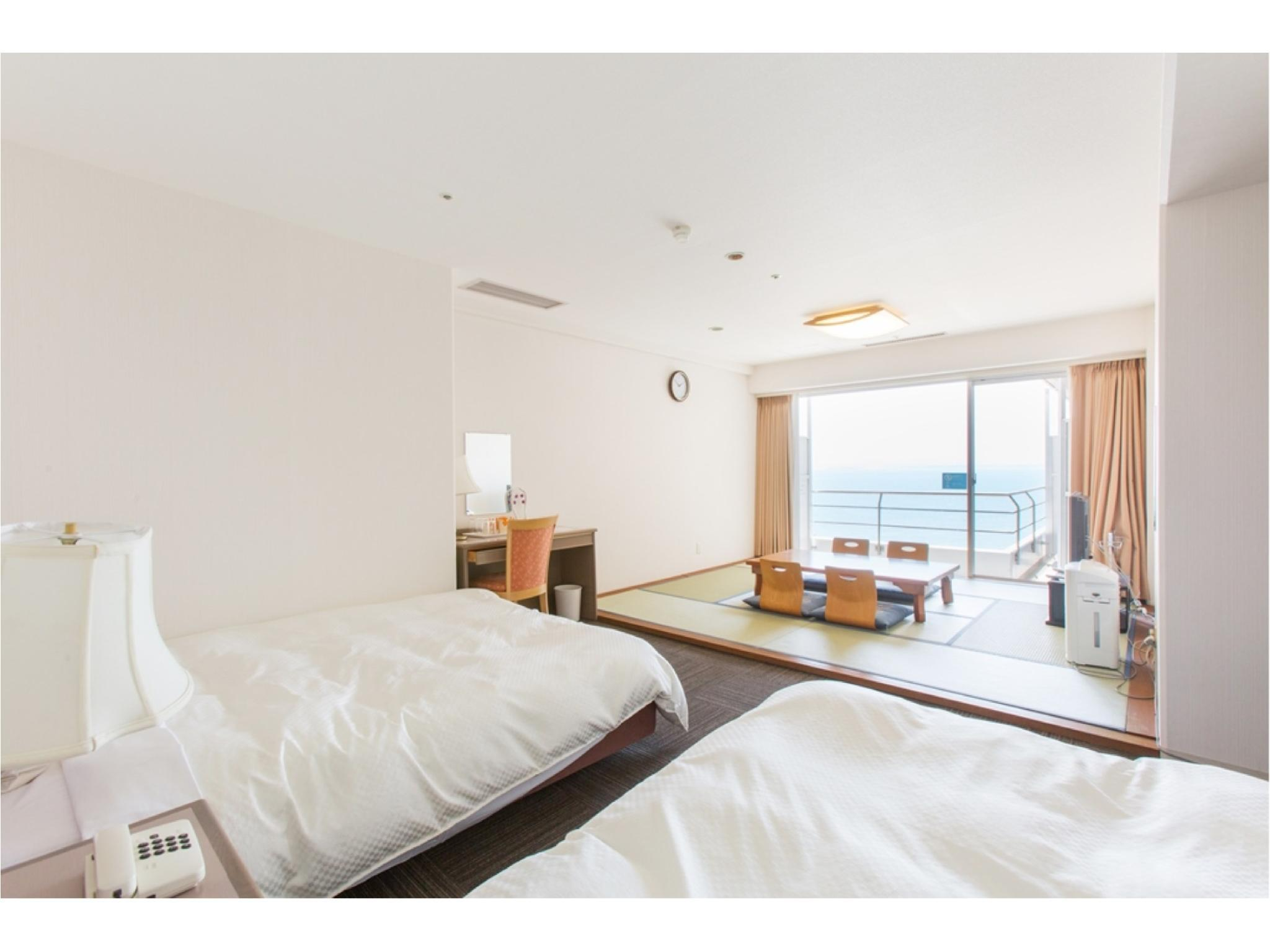 夕凪 和洋式房 (Japanese/Western-style Room (Yunagi Type, Ocean Side))