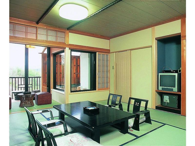 観月亭 和室 喫煙  露天風呂付 (Japanese-style Room with Open-air Bath (Kangetsutei Wing))