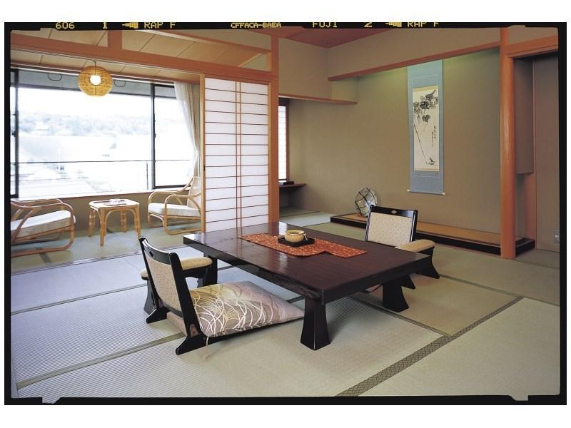 Japanese-style Room with Open-air Bath (Kita-no-Yakata Wing)