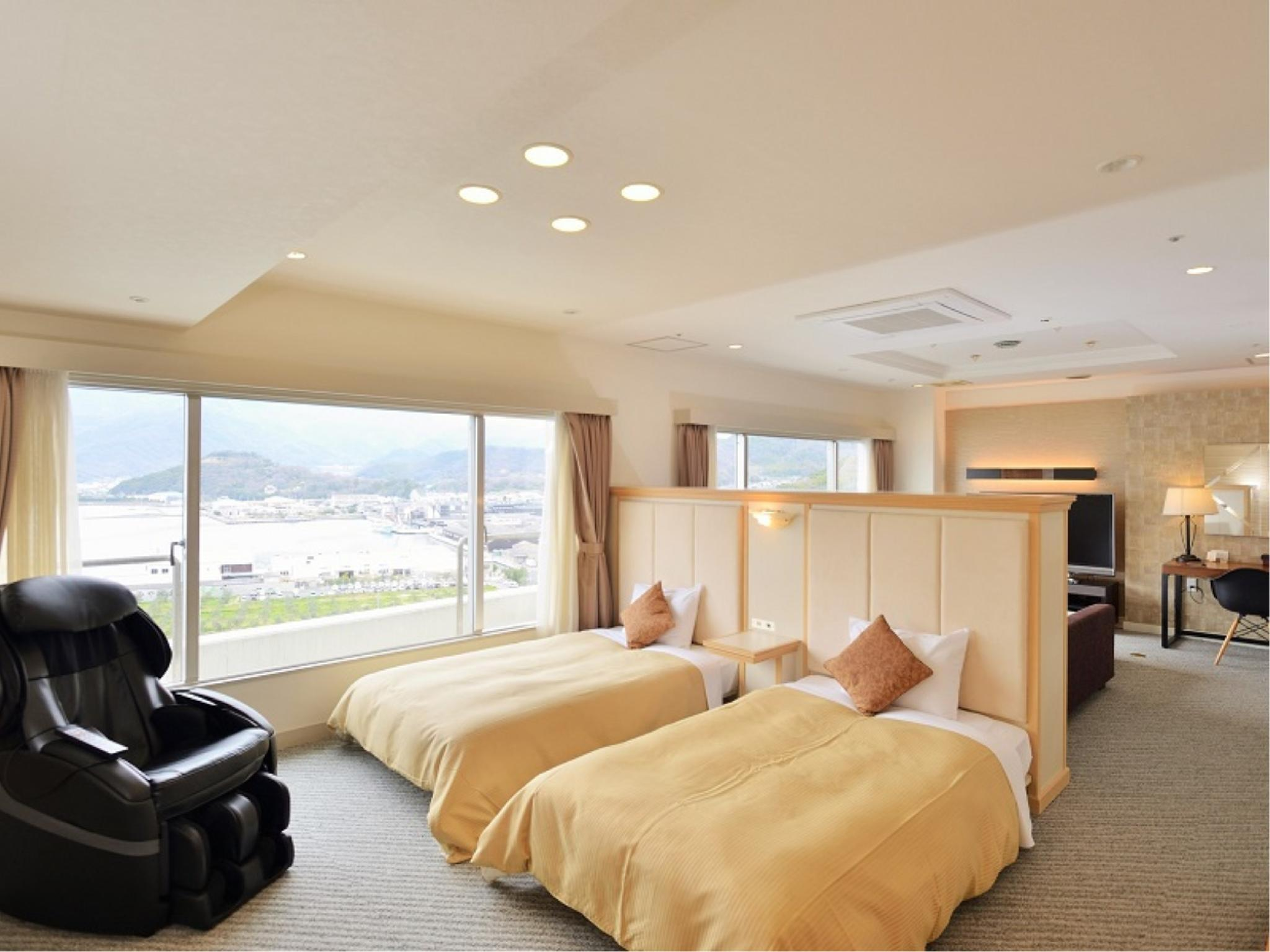 顶层 皇家套房 (Royal Suite (Ocean View, Top Floor))