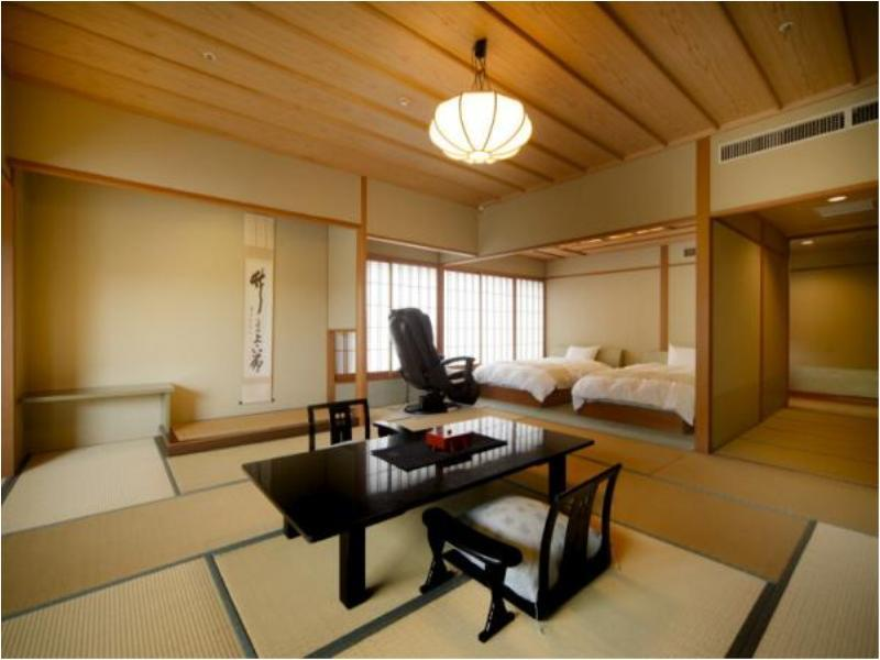 다다미 객실(HITEN-KAN/베드) (Japanese-style Room with Bed(s) (Hiten Wing))