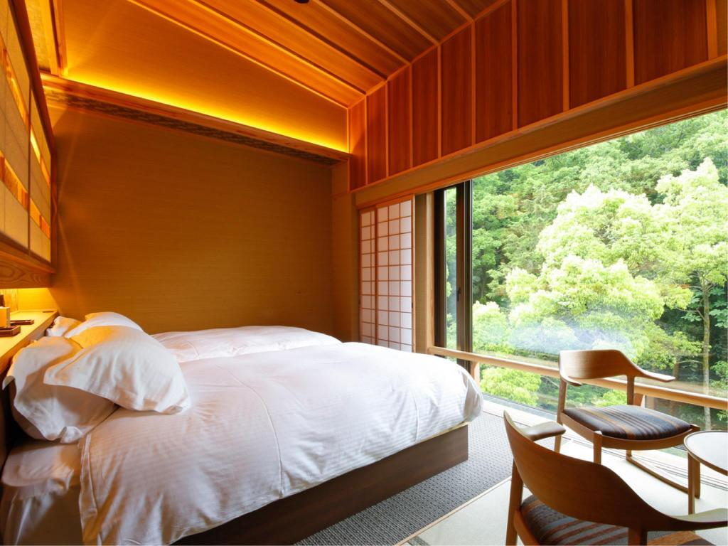 Twin Room with Open-air Bath (Type A) - Guestroom