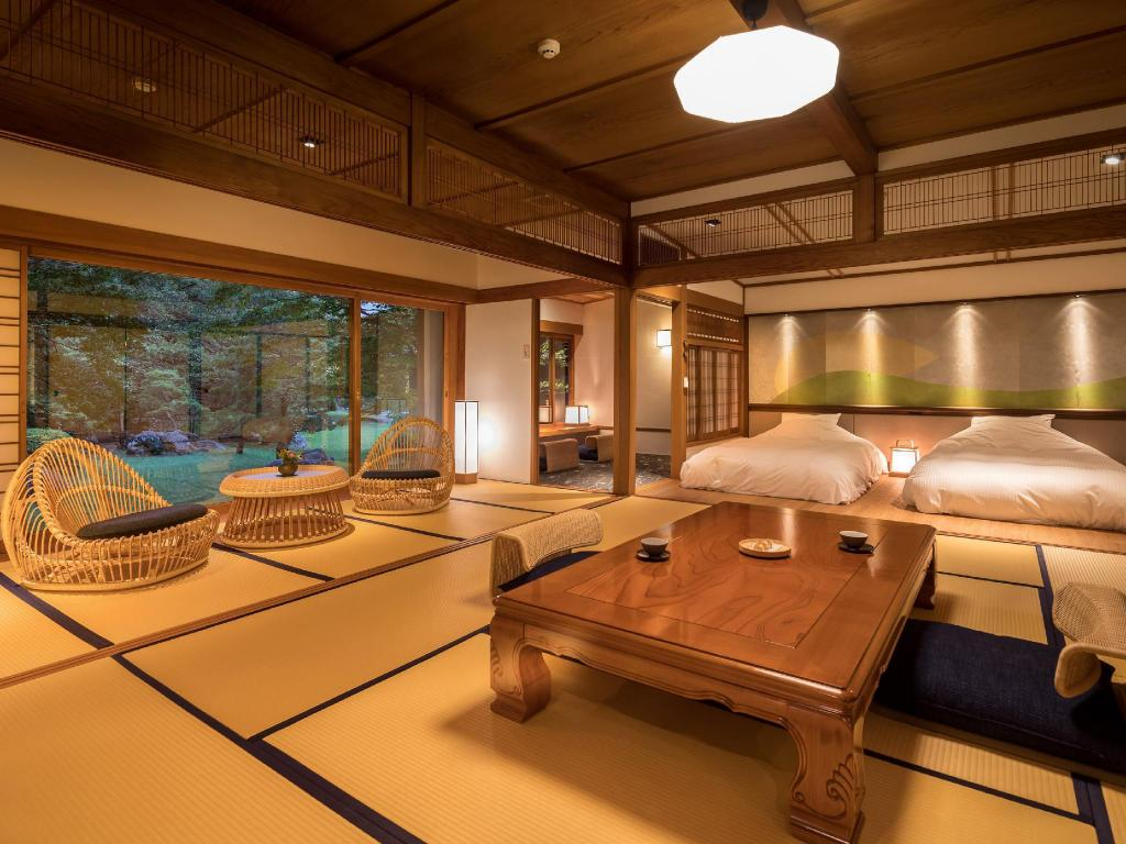 Detached Japanese/Western-style Room (2 Beds) - Guestroom Hotel Parens Onoya
