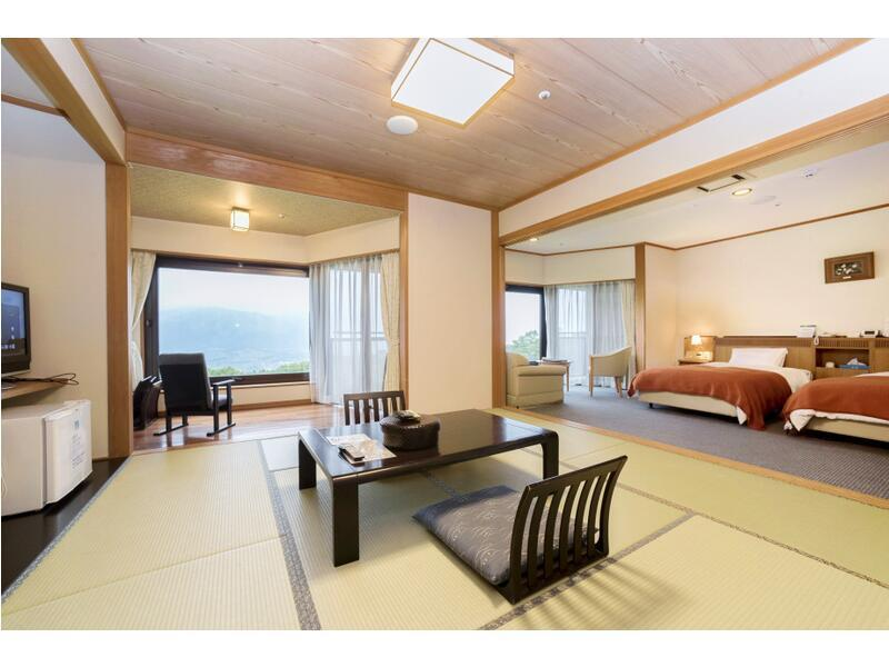 本館 和洋室 2ベッド 禁煙 (Main Building Japanese Western Style Room)