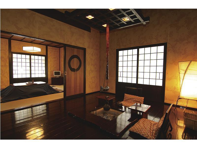 和式房 (Japanese-style Room with Open-air Bath (Nukumori no Yado Guest Residence))