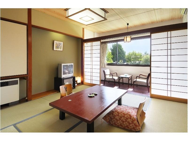 和室(2階客室)バスなし|8畳 (Japanese-style Room *No bath in room)