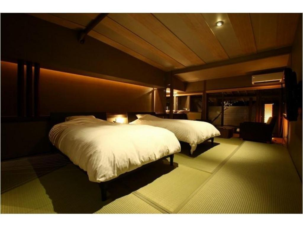 Modern Japanese-style Designer Room with Open-air Bath - Guestroom Sozankyo