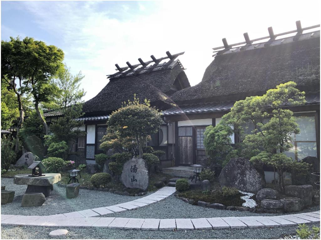 Private Thatched Roof House (Japanese-style Room) - Guestroom Ryoso Makibanoie