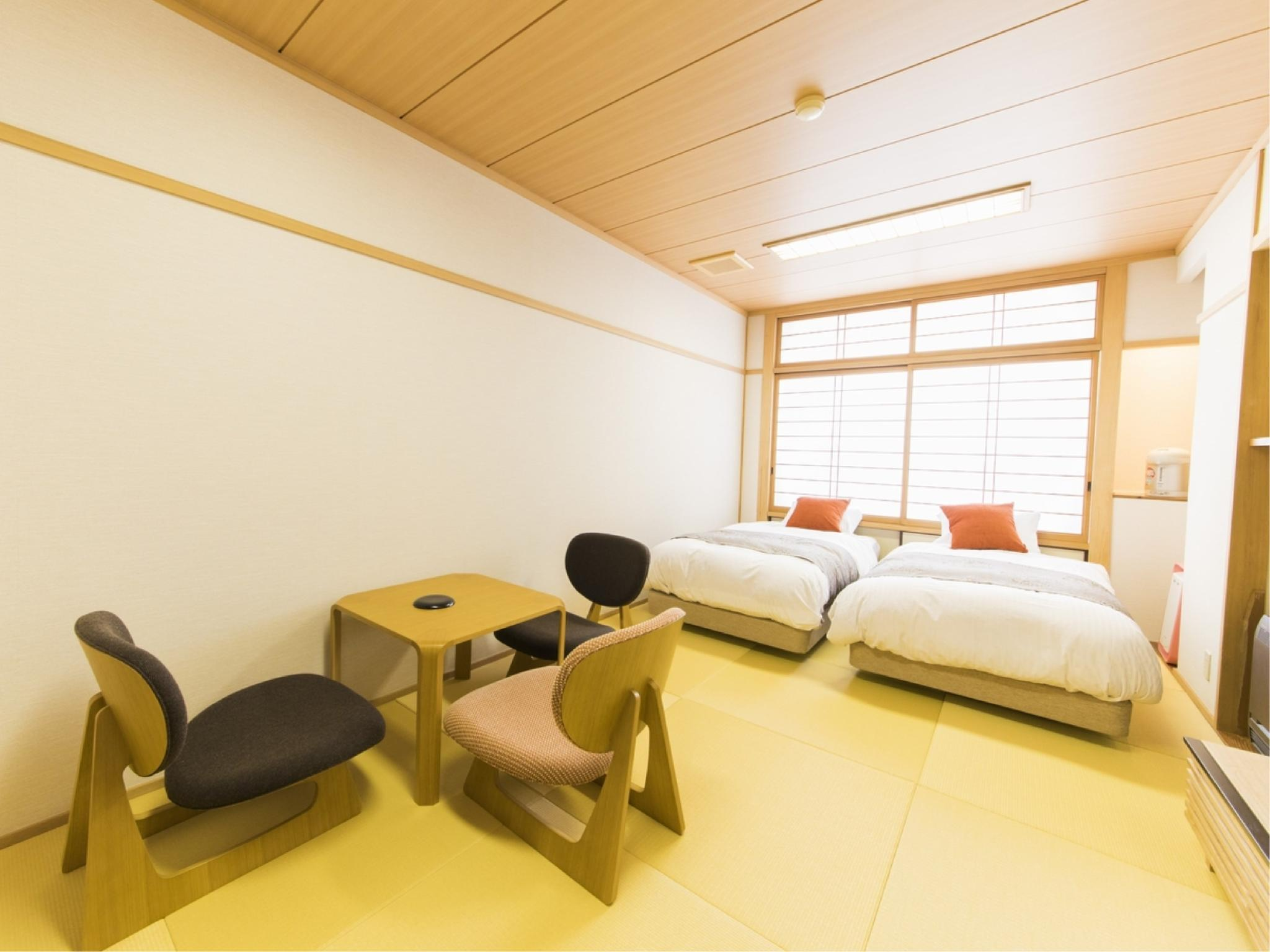 Modern Japanese-style Twin Room (Modern Japanese Style Room with Twin Bed)