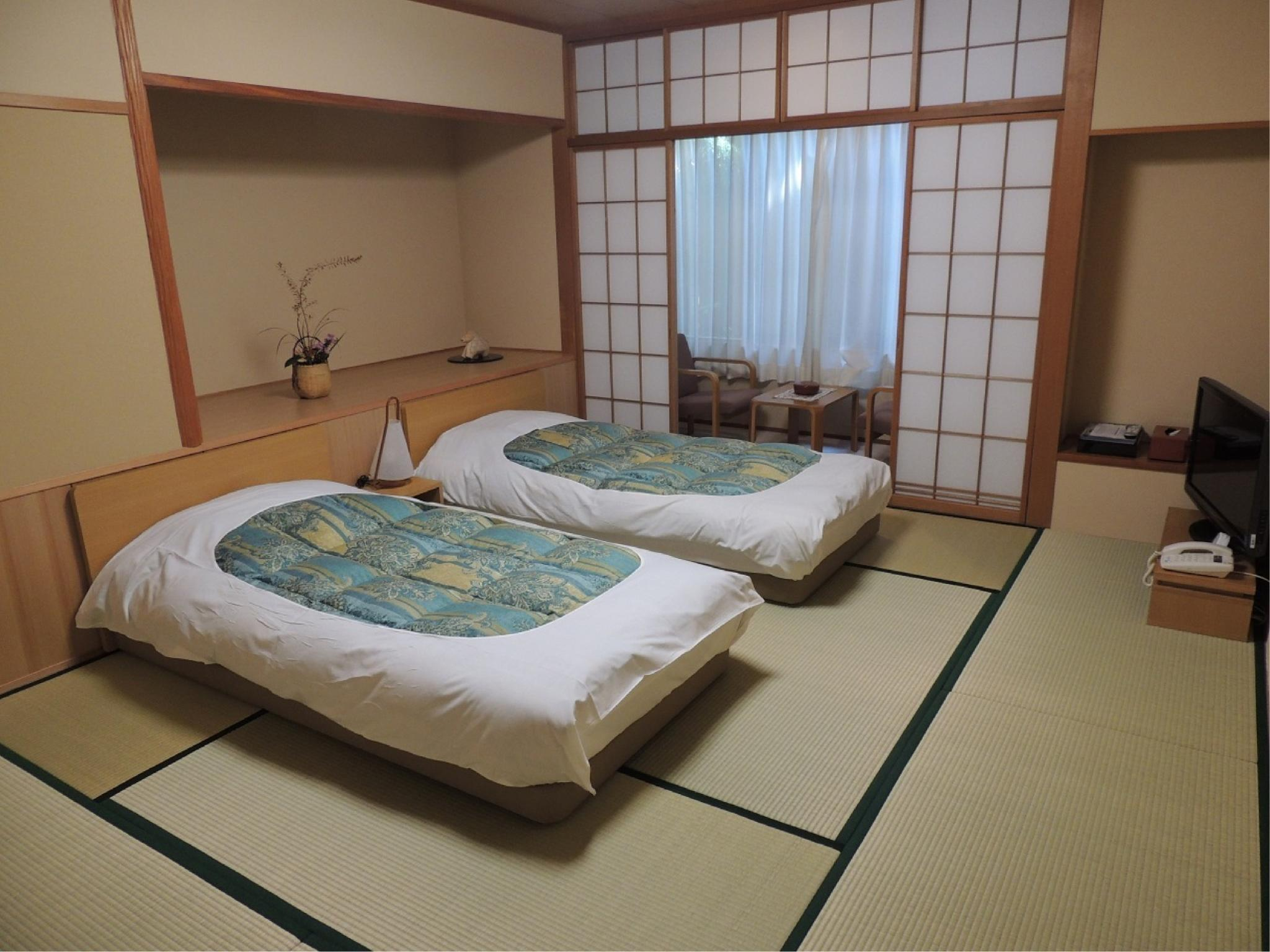 和风房A(附床) (Japanese-style Room with Bed(s) (Type A))