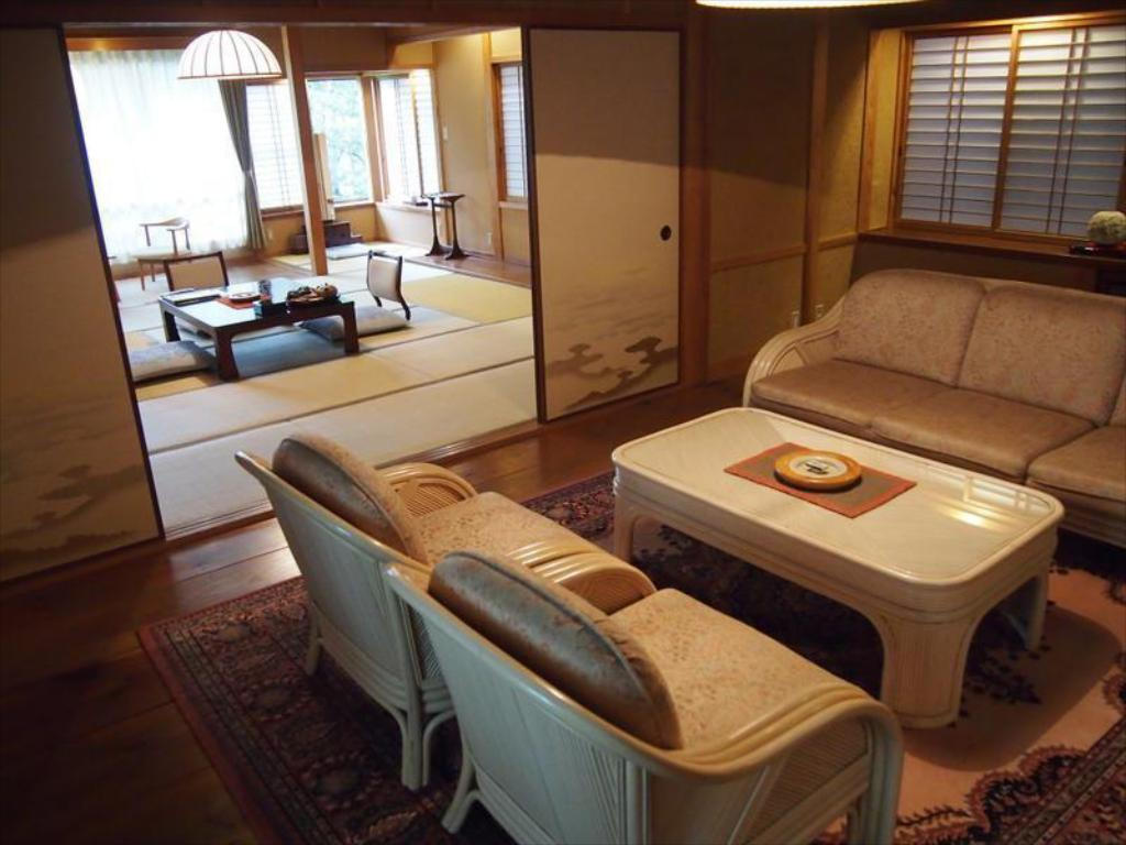 Japanese-style Room with Living Room (New Building Kobotei) - Guestroom Yama no Hotel Musouen