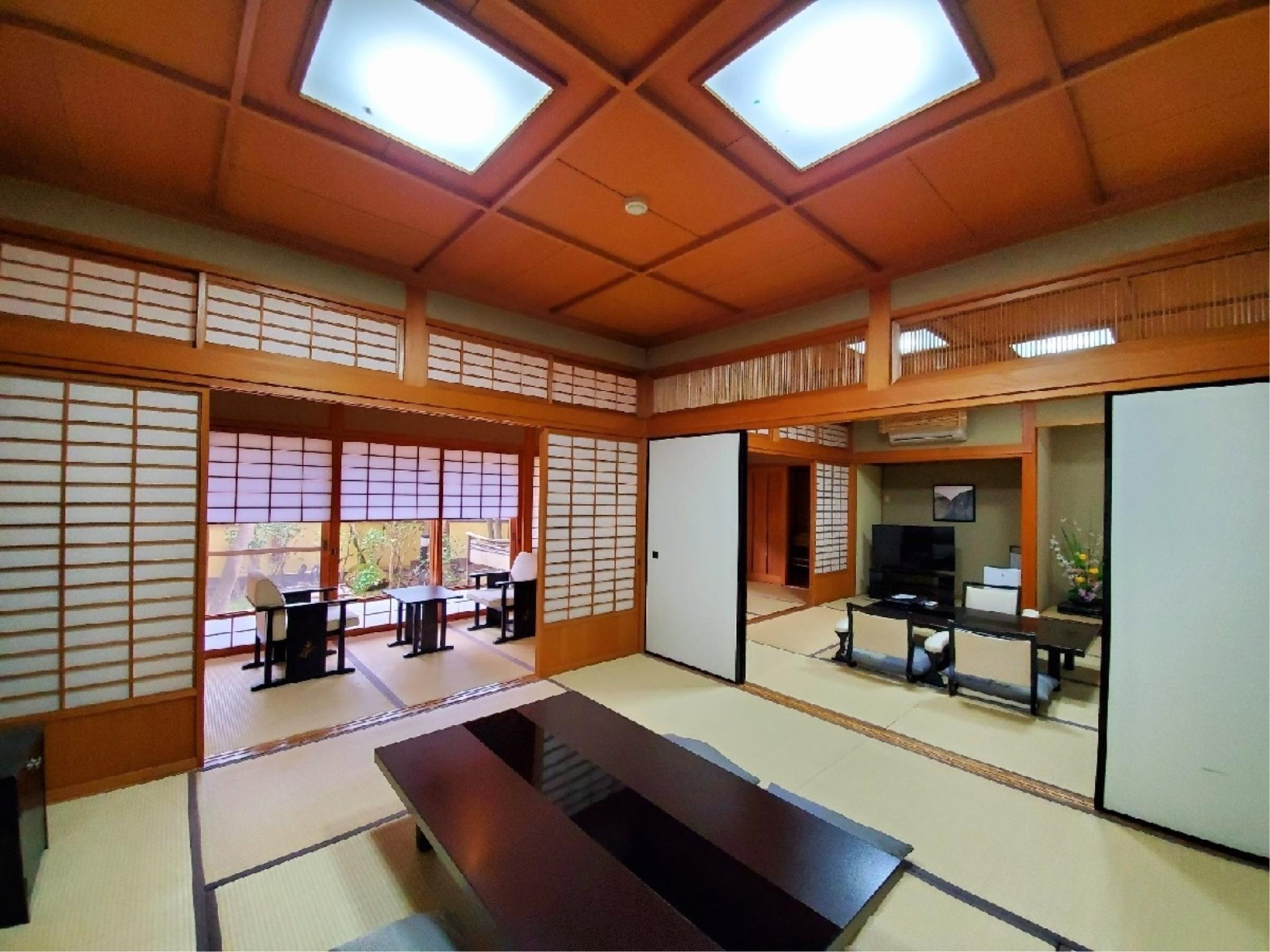 Japanese-style Room with Open-air Bath + Hiroen Space