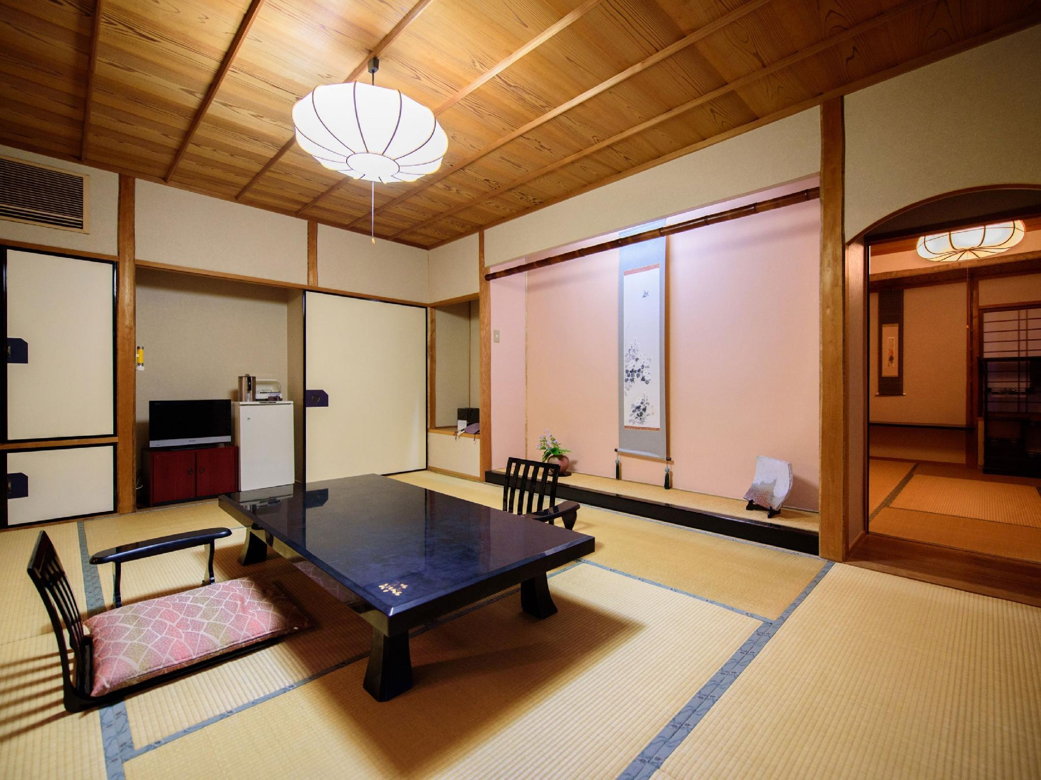 ■【あがの】檜風呂付離れ和室三間(10+6+4畳)[禁煙]|20畳 (Detached Japanese-style Room with Cypress Bath (Agano Type))