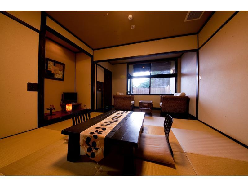 獨立房(和式房+露天風呂)※無室內風呂 (Detached Japanese-style Room with Open-air Bath *No bath in room)