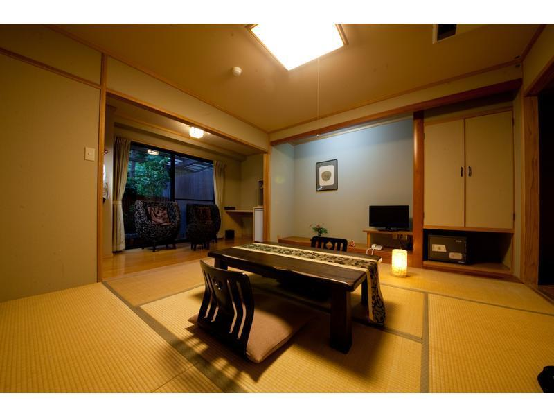 和式房+露天風呂※無室內風呂 (Japanese-style Room with Open-air Bath *No bath in room)