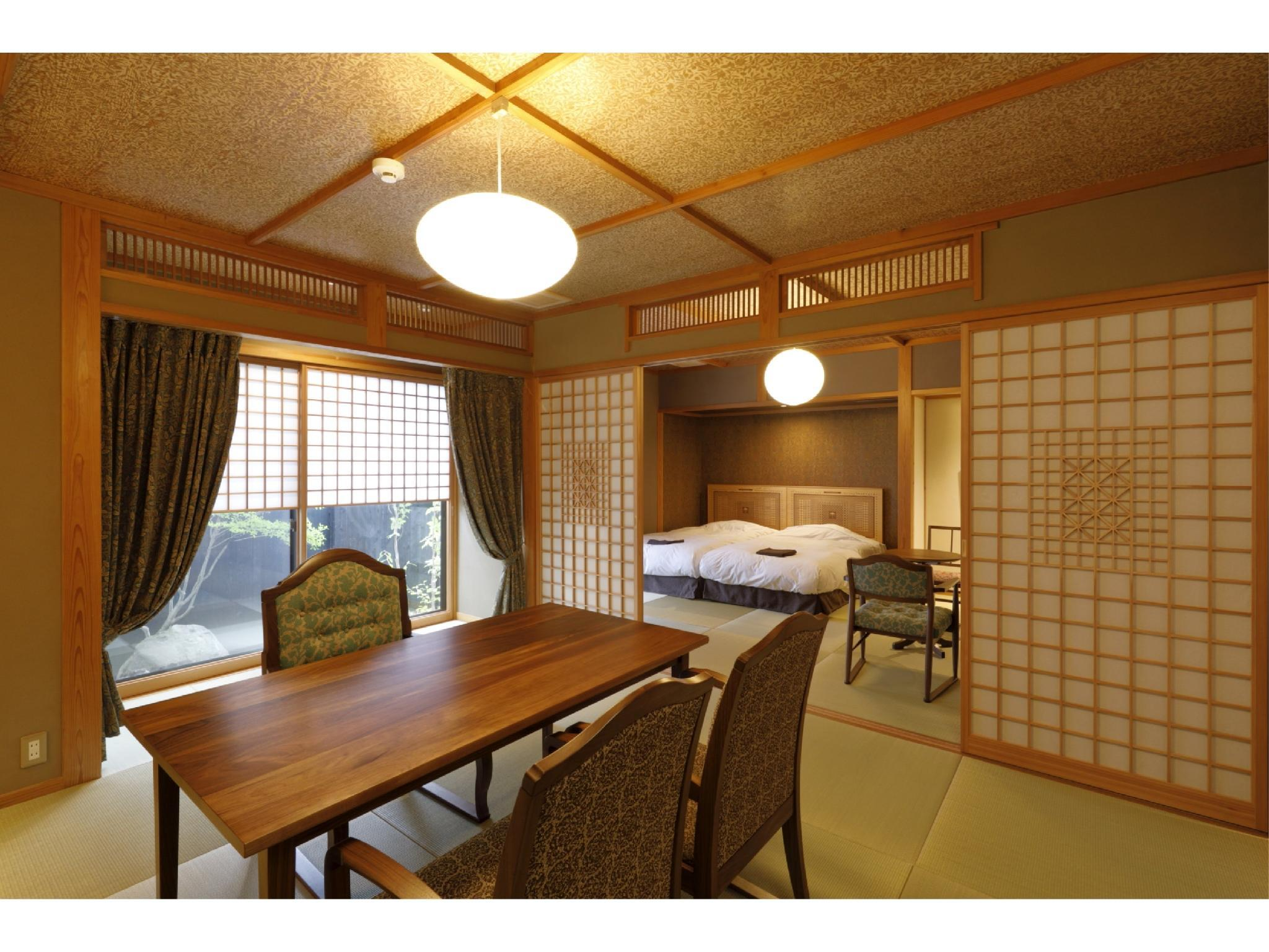 다다미 객실(본관/실내탕) (Japanese-style Room with Indoor Bath (Main Building))