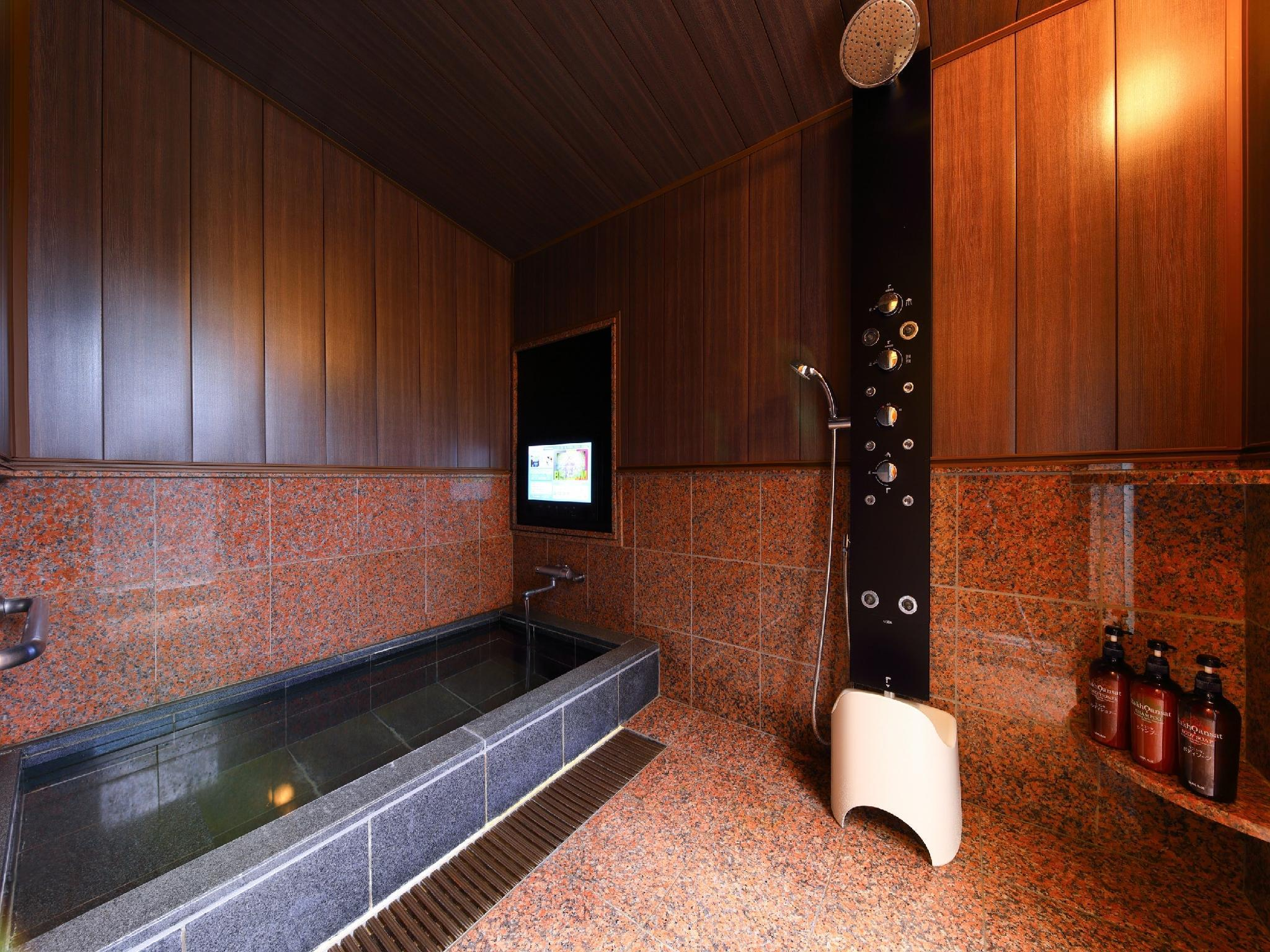 Detached Japanese/Western-style Room with Foot Bath + Open-air Bath (Type E/Gekkou Type, Yumenosato Wing)