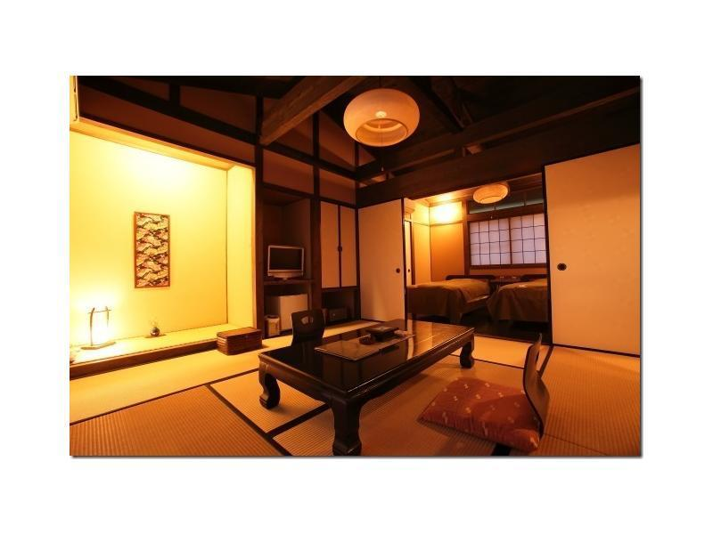 独立房 和洋式房+露天风吕(2张床) (Detached Japanese/Western-style Room with Open-air Bath (2 Beds))
