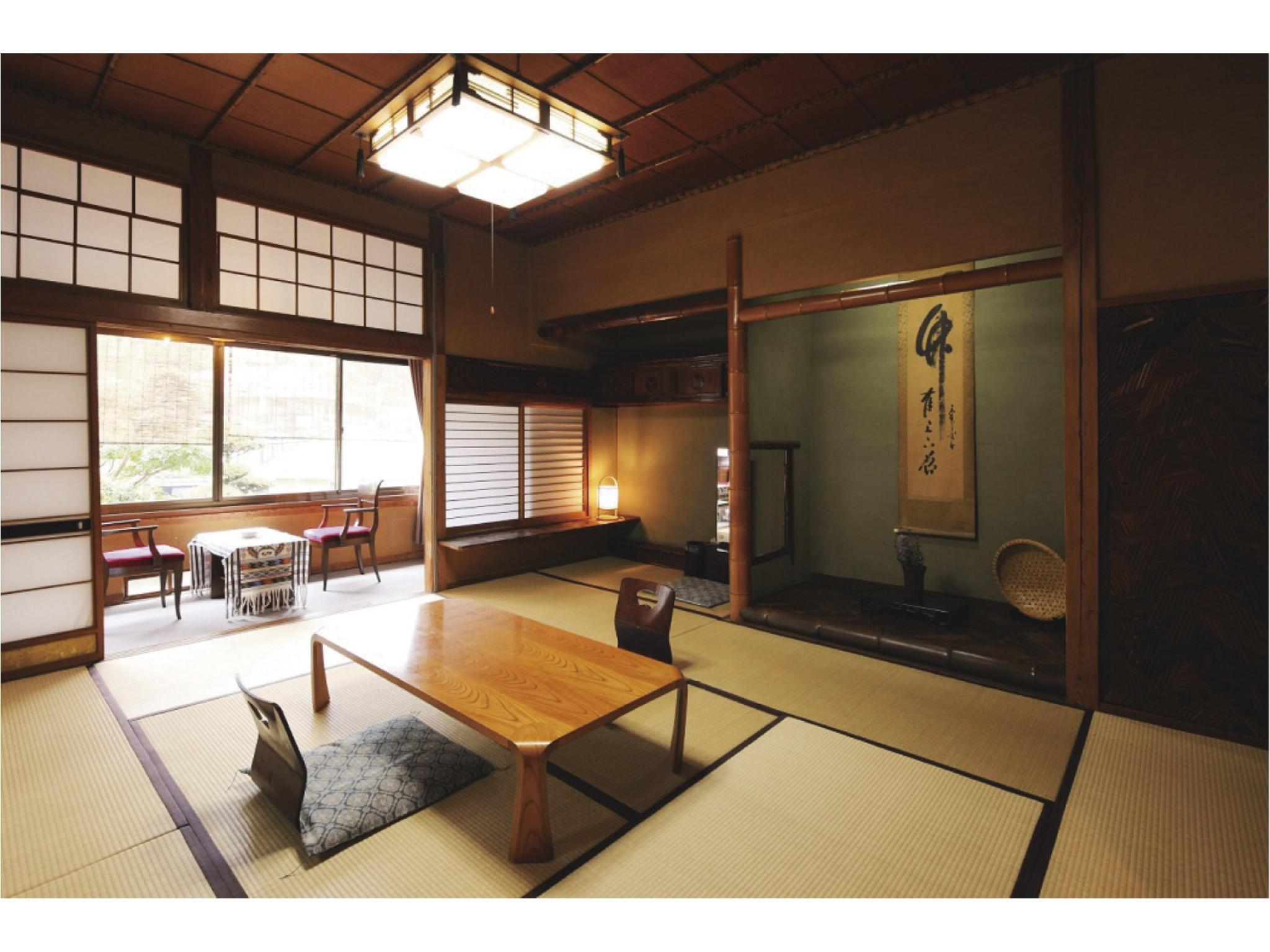和式房10-14帖榻榻米(無浴室) (Japanese-style Room (10-14 tatami)*No bath in room)