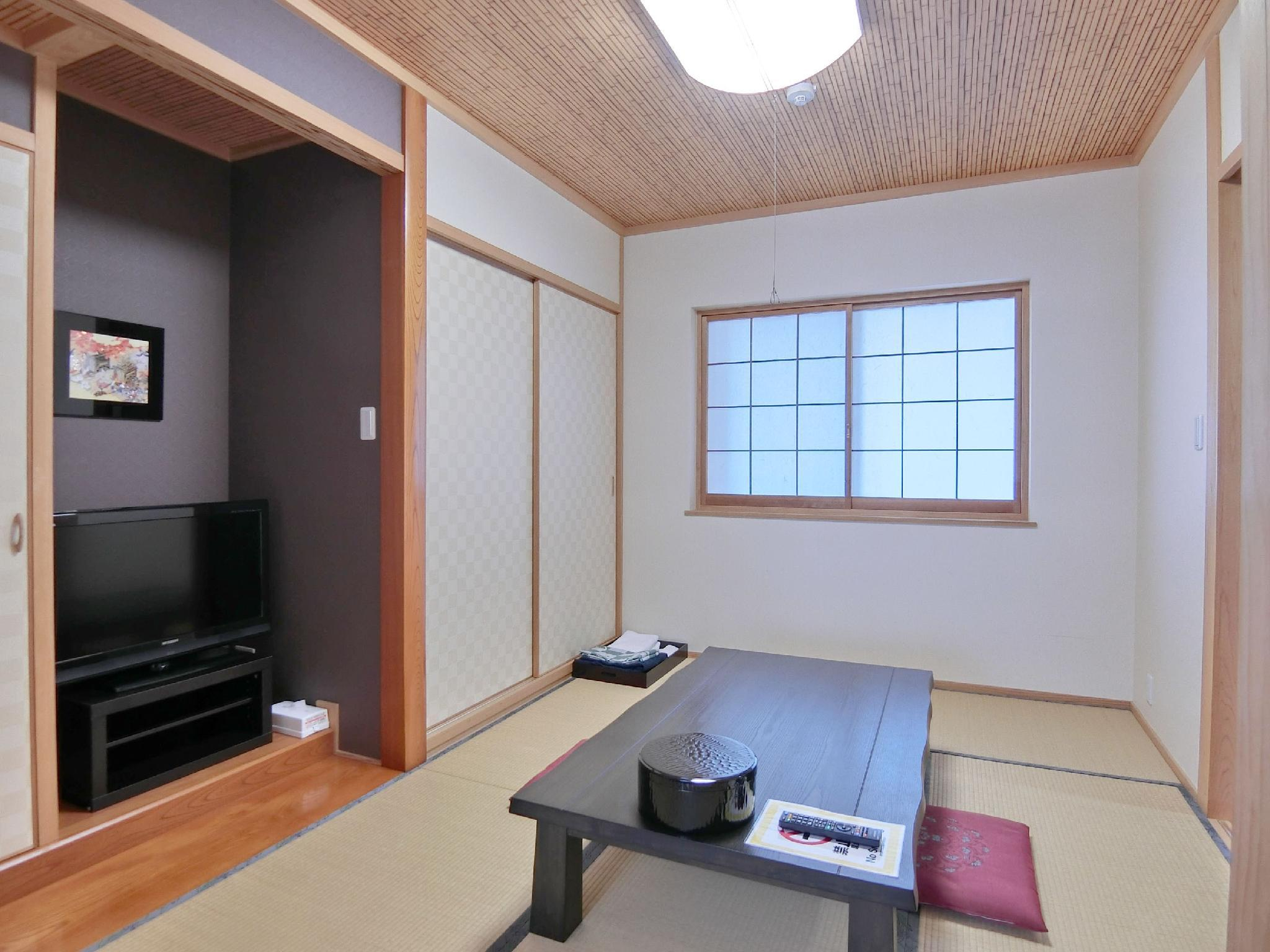 Japanese/Western-style Room (No. 206) *Has bath