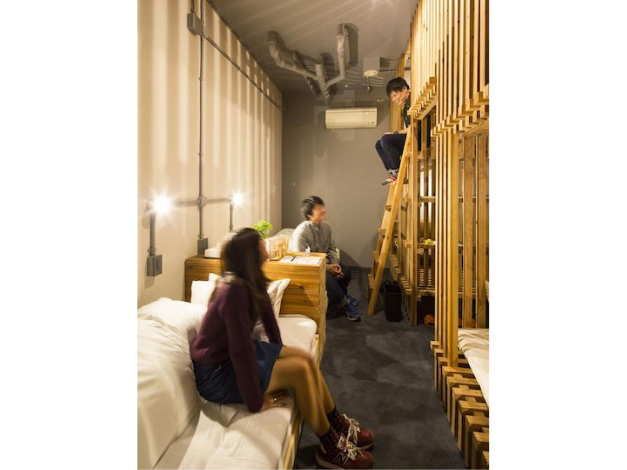 【禁煙】洋室<2段ベッド2台&シングルベッド2台最大6名> (Western-style Room (2 Bunk Beds & 2 Single Beds))