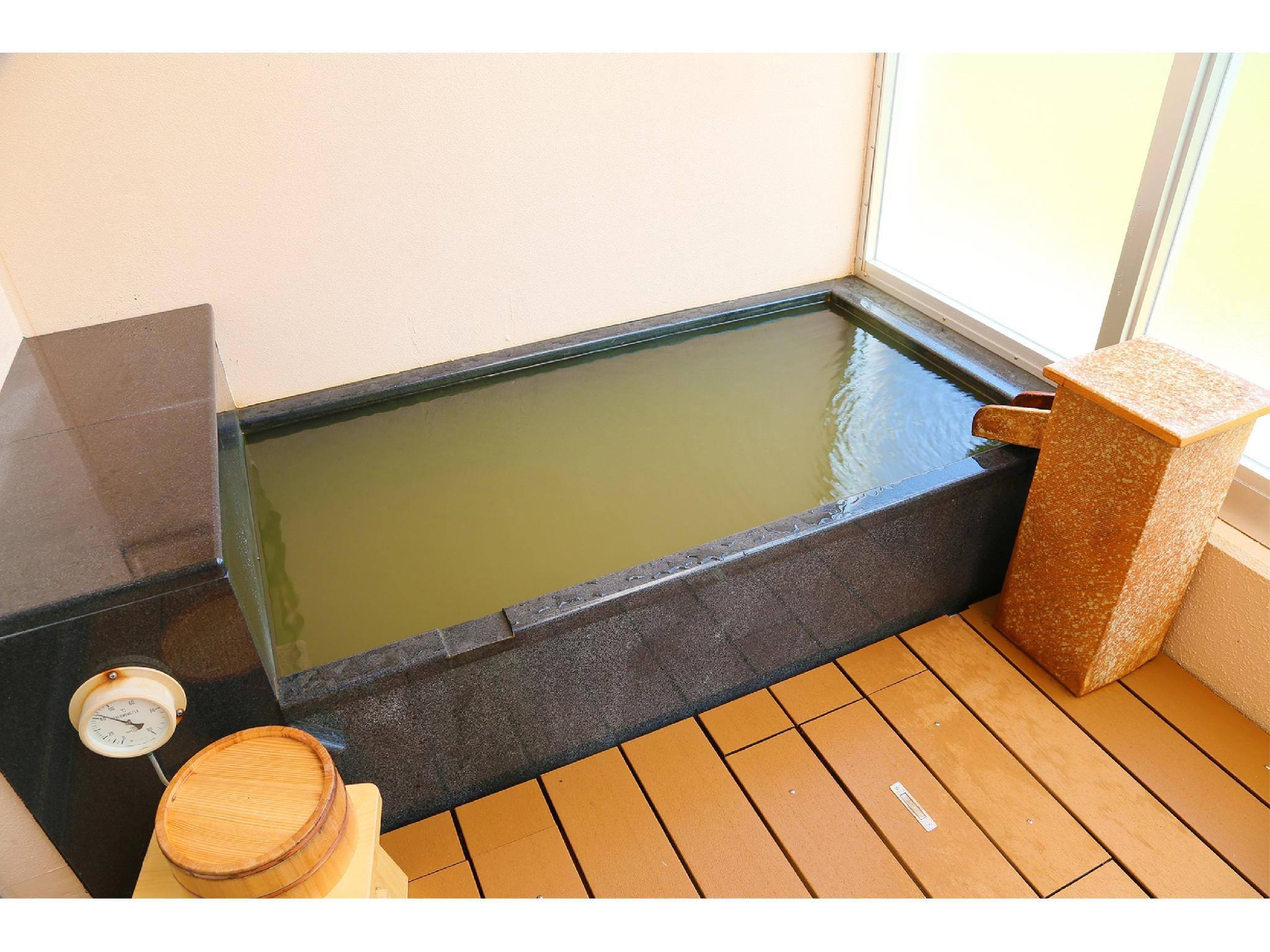 Japanese-style Room with Natural Hot Spring Bath (Main Building)