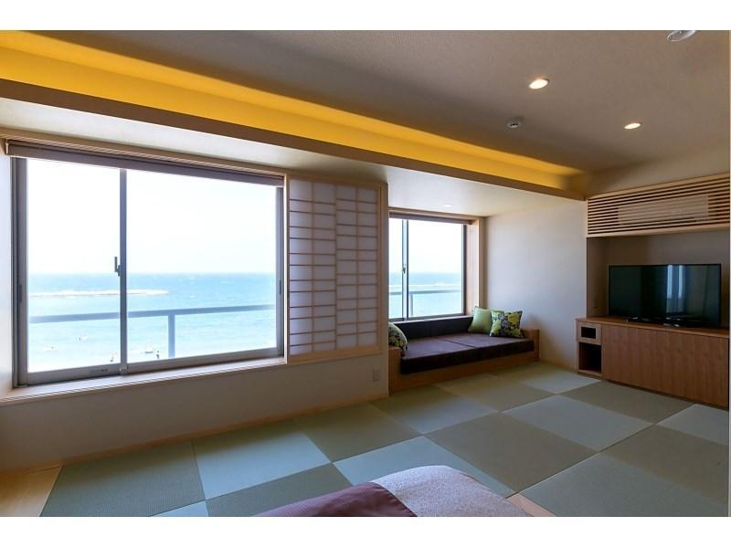 일본식 모던 트윈룸 (Modern Japanese Style Room with Twin Bed)