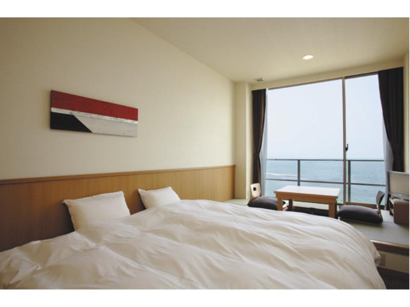 더블룸(오션뷰) (Double Room with Tatami Area (Ocean View))