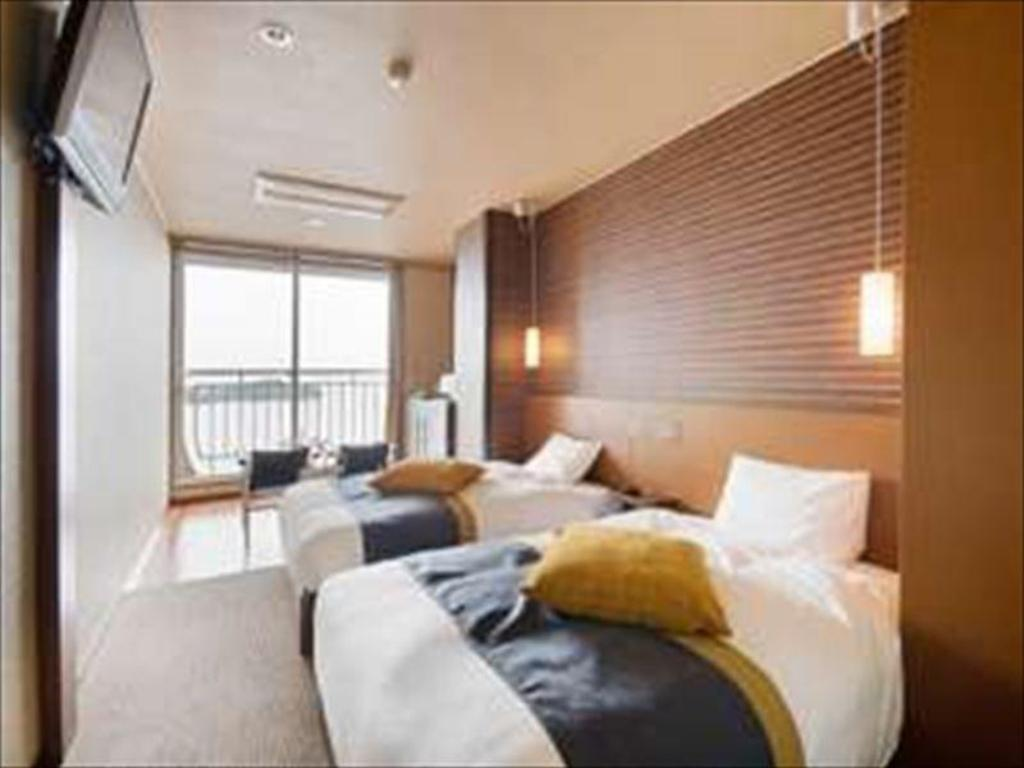 Modern Japanese-style Twin Room (Type C, Club Floor) - Guestroom