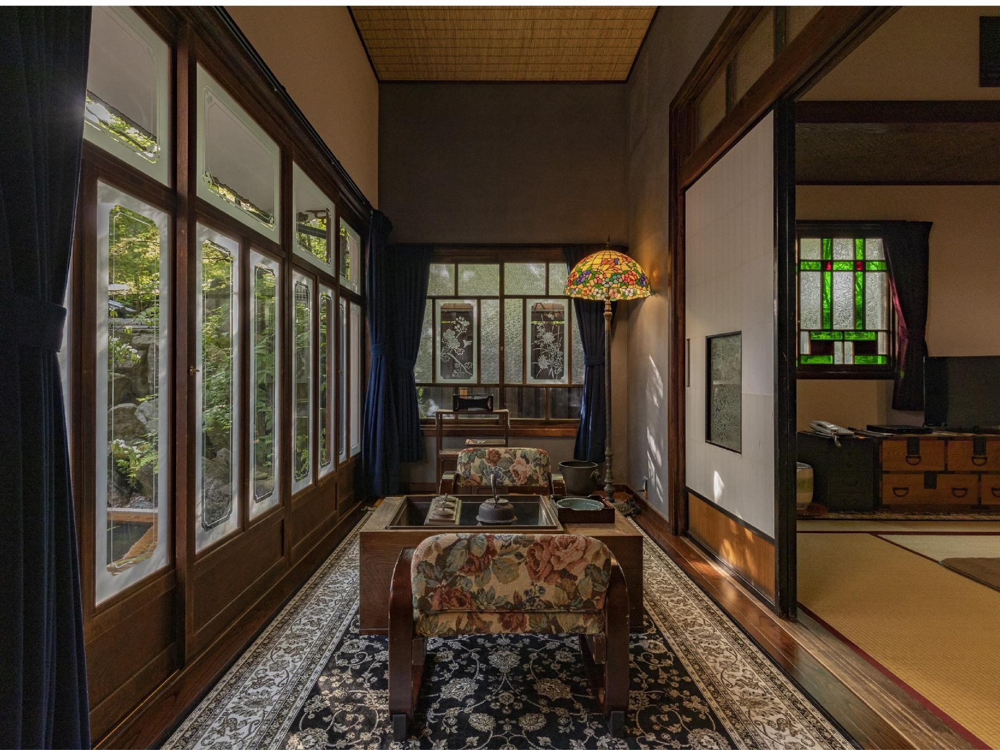 Detached Suite with Indoor Hot Spring Bath & Open-air Bath (Type C)