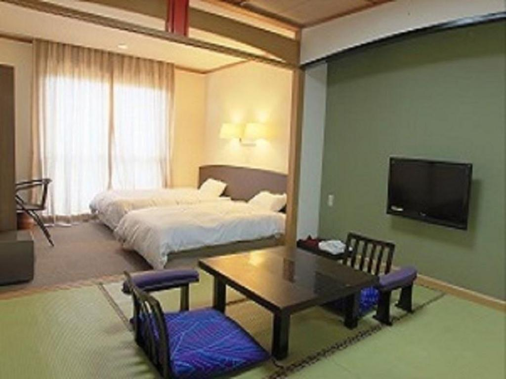 Japanese/Western-style Room (2 Beds) - ห้องพัก
