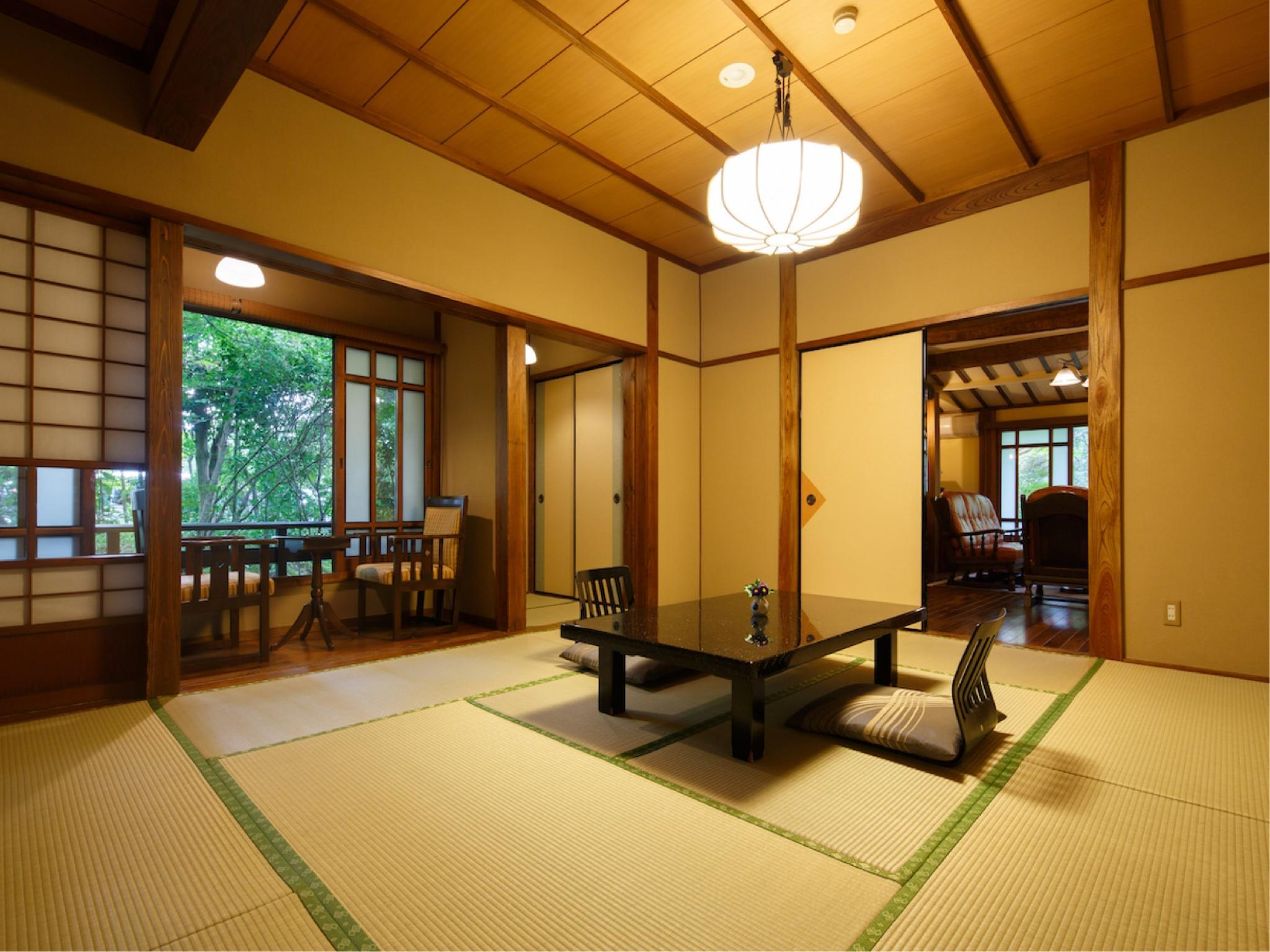 다다미 객실F(거실) (Japanese-style Room with Living Room (Type F))