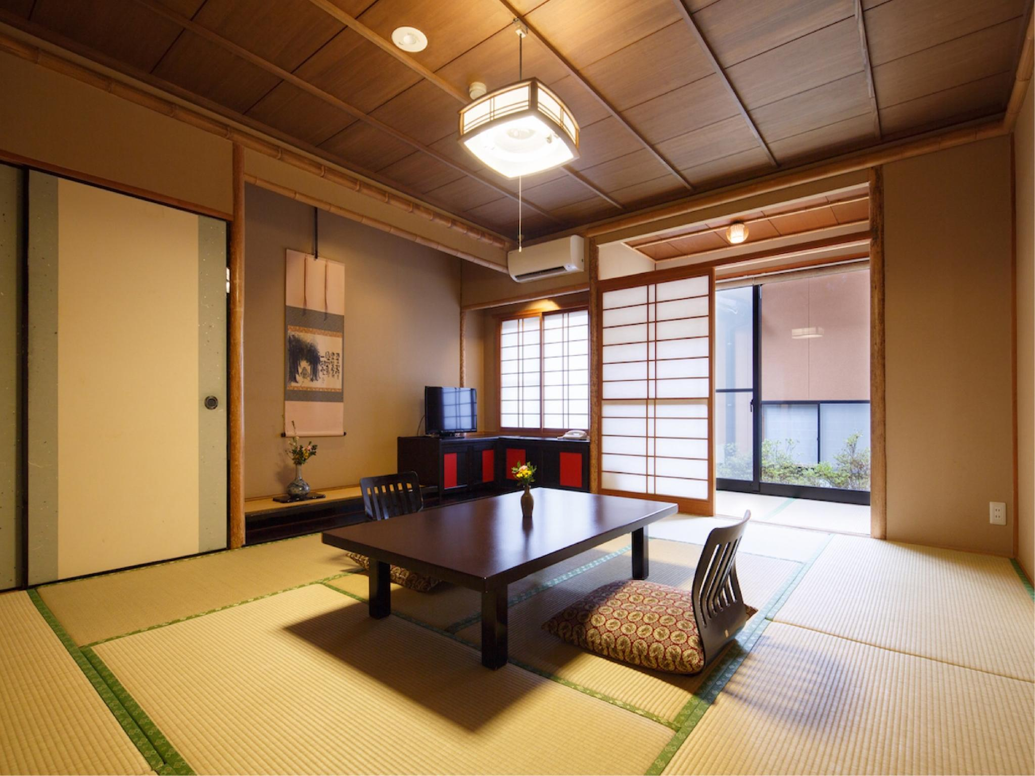 다다미 객실G(반노천탕) (Japanese-style Room with Semi Open-air Bath (Type G))