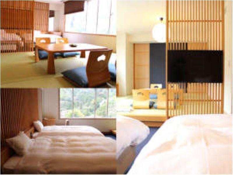 【禁煙】本館山側 【新】和洋室|56平米 (New Japanese/Western-style Room (Main Building))