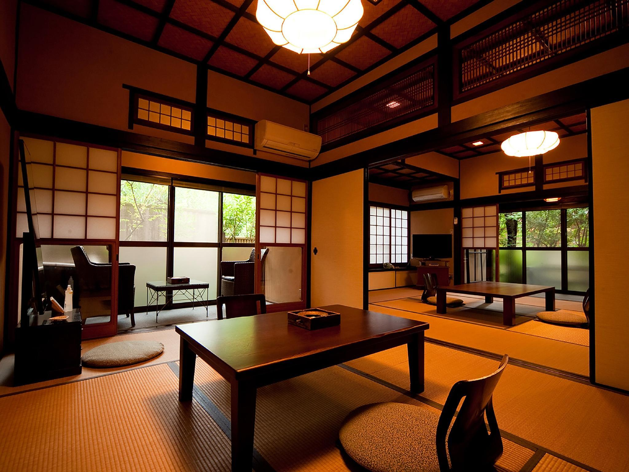 다다미 객실(노천탕) *실내탕 없음 (Japanese-style Room with Open-air Bath *No bath in room)