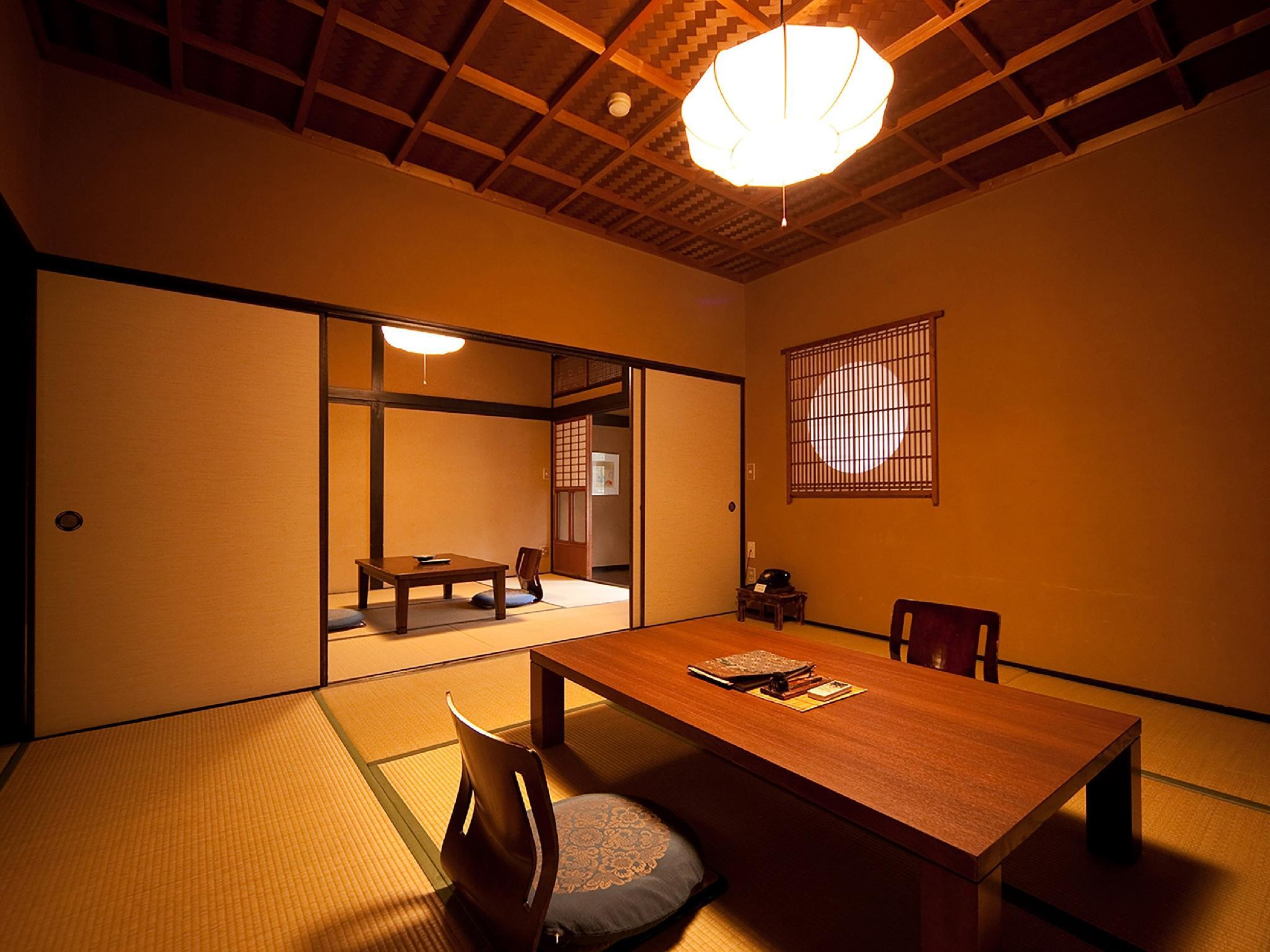 高砂 獨立房(和式8帖+6帖榻榻米+檜木室內風呂) (Detached Japanese-style Room with Cypress Indoor Bath (8 tatami + 6 tatami, Takasago Type))