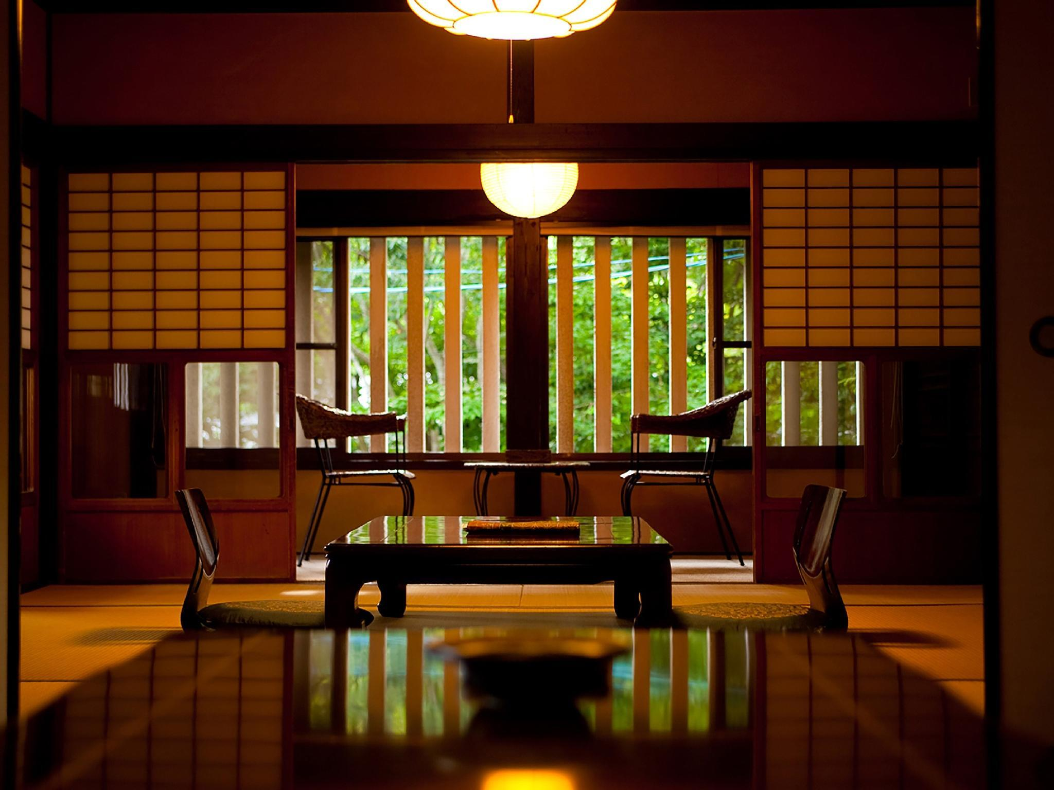 由布 獨立房(和式8帖+8帖榻榻米+露天風呂)  (Detached Japanese-style Room with Open-air Bath (8 tatami + 8 tatami, Yufu Type))