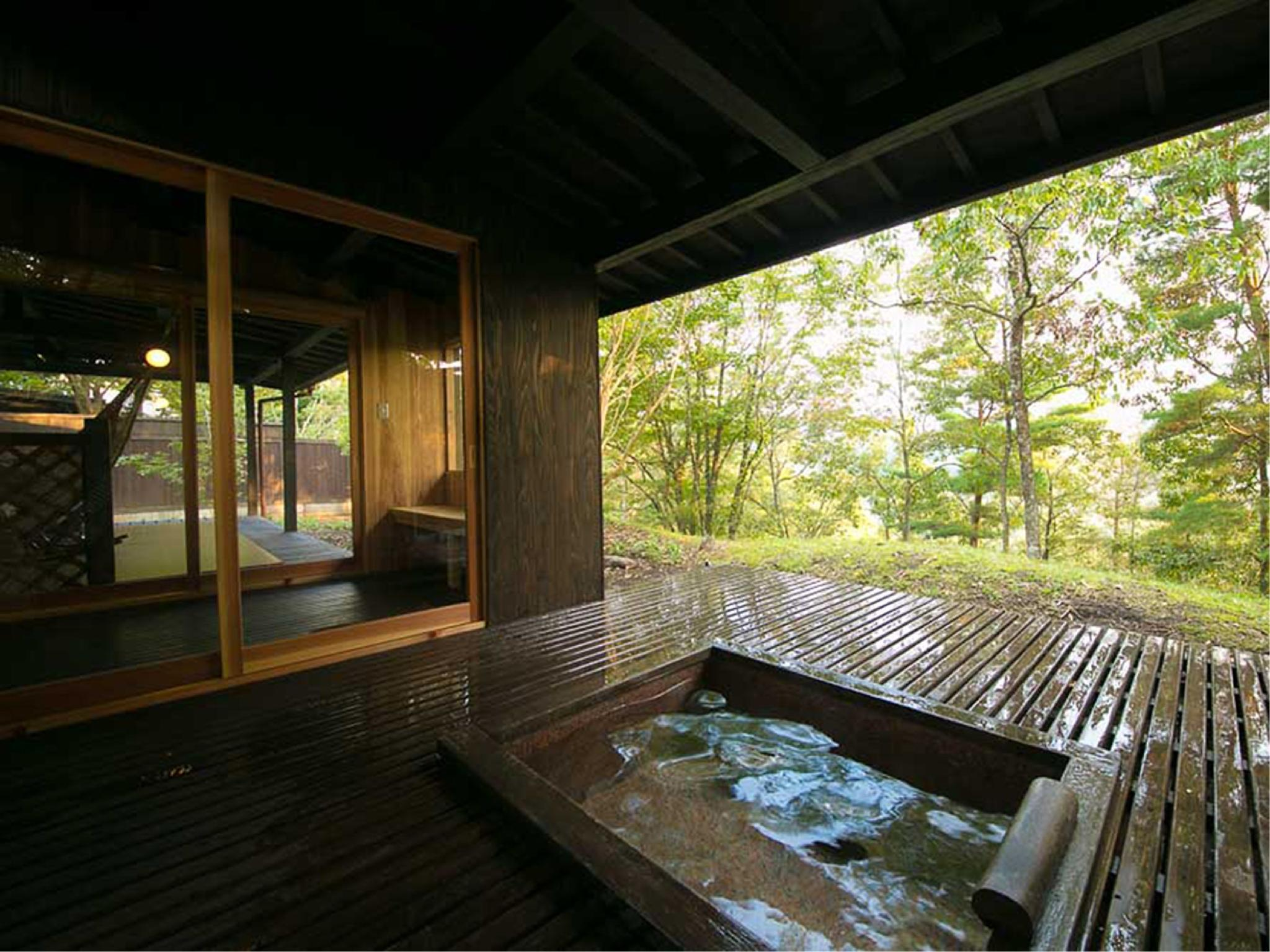 Detached Japanese/Western-style Room with Open-air Bath