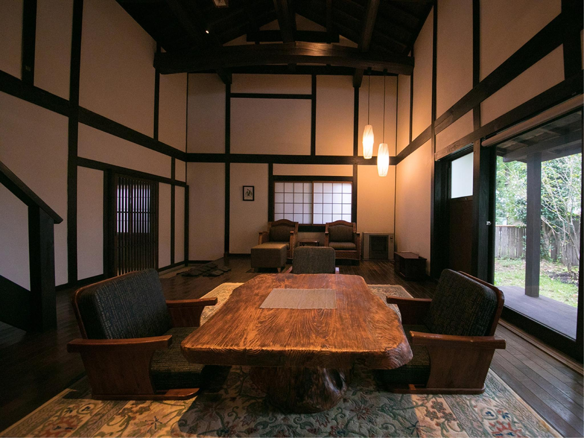 Detached Room with Indoor Bath (Nogami Type/Chikuden Type)