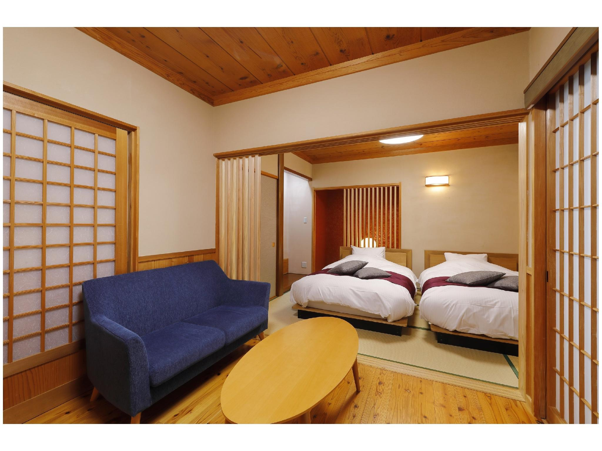 다다미 침대 객실(신관/별채/2베드) (Detached Japanese/Western-style Room (2 Beds, New Building))