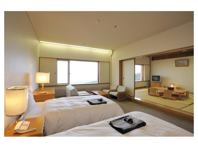 Japanese/Western-style Semi-suite (2 Beds)