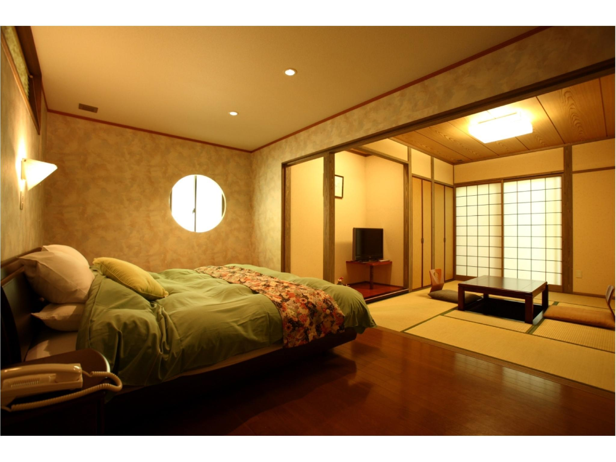 独立房(和洋式房+露天风吕)※无游泳池 (Detached Japanese/Western-style Room with Open-air Bath *No pool)
