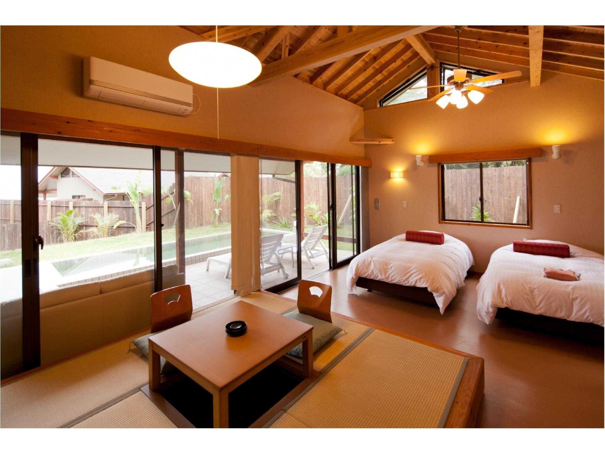 独立房(薩摩别墅+温泉泳池+露天风吕) (Detached Satsuma Villa Deluxe Room with Hot Spring Pool & Open-air Bath)